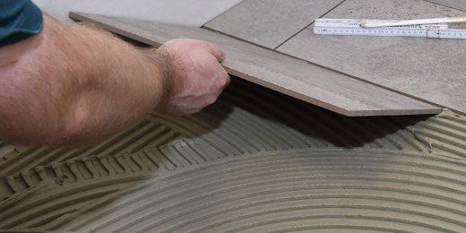 Quelle est l'épaisseur de colle applicable pour du carrelage ?