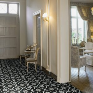 Carrelages pour bureau, hall, couloir, escaliers