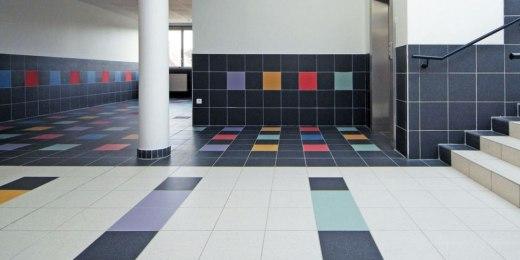 Carrelages pour collectivités, écoles, crèches, espaces culturels, centres sportifs - Belgique