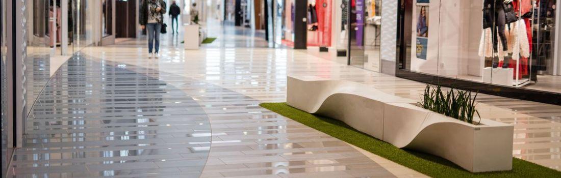 Carrelages pour grandes surfaces, centres commerciaux, locaux industriels, ateliers, garages, entrepôts - Belgique