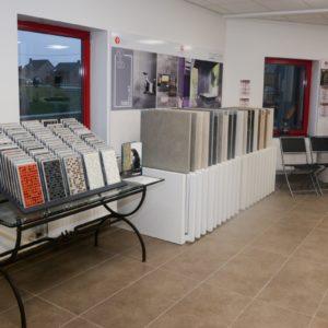 Showrooms intérieurs de carrelages
