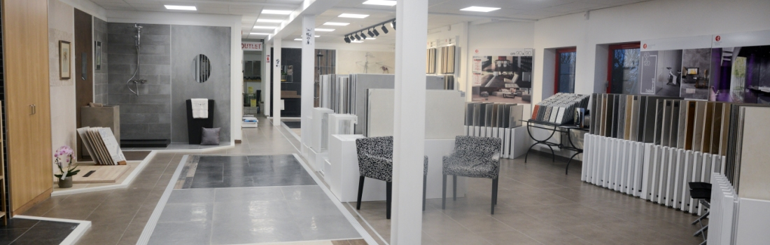Kom ons volledig gamma tegels ontdekken in onze showrooms - België