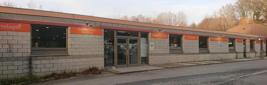 Tegelshowroom in Saive - provincie Luik - nabij Limburg